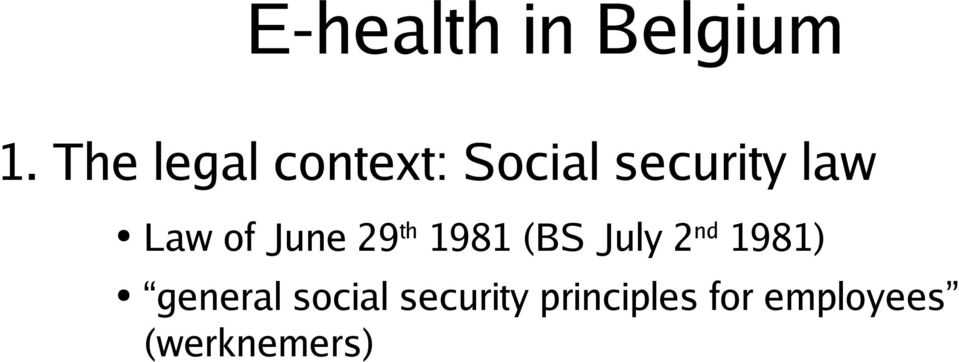 (BS July 2 nd 1981) general social