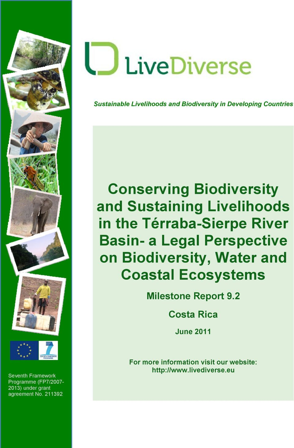 and Coastal Ecosystems Milestone Report 9.