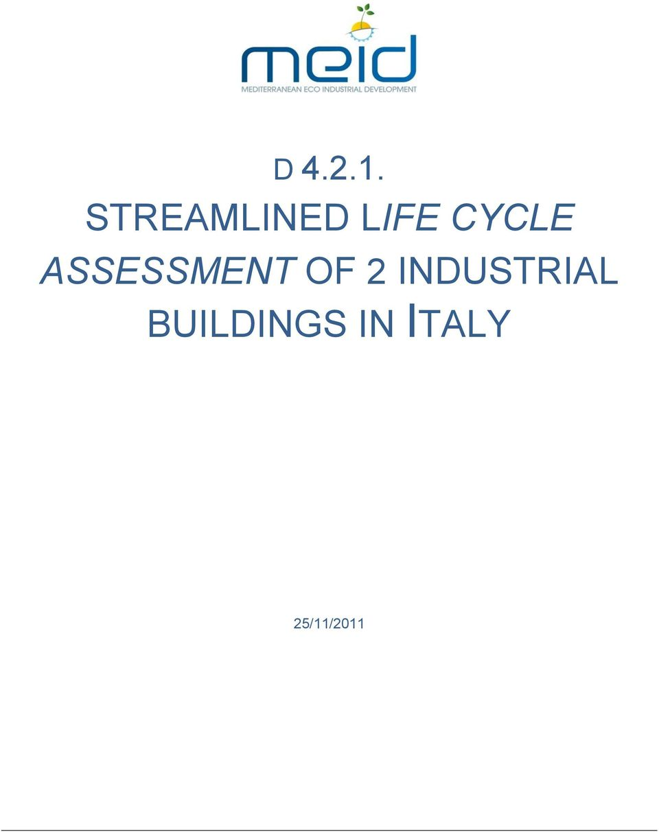 CYCLE ASSESSMENT OF 2