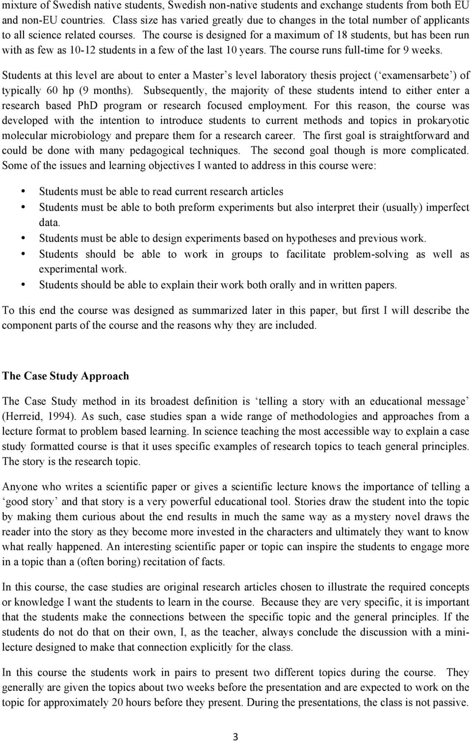research study about working students