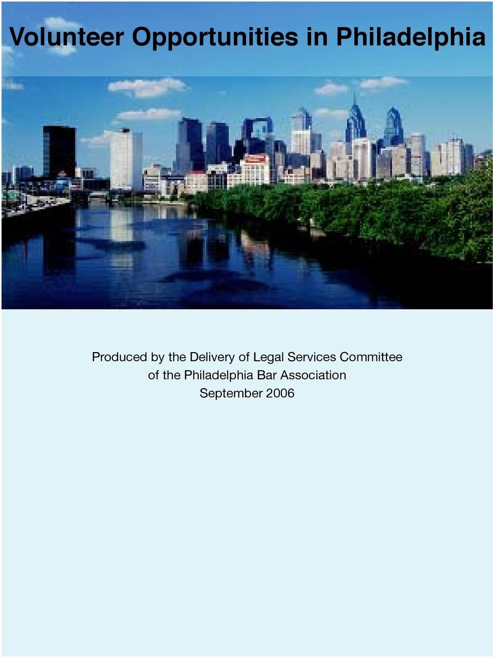 Delivery of Legal Services