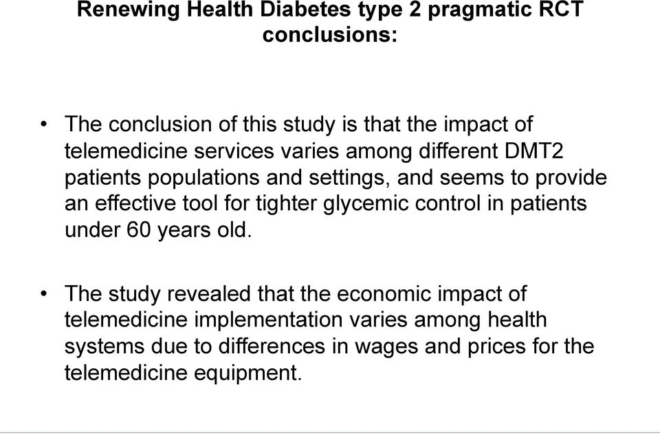 effective tool for tighter glycemic control in patients under 60 years old.