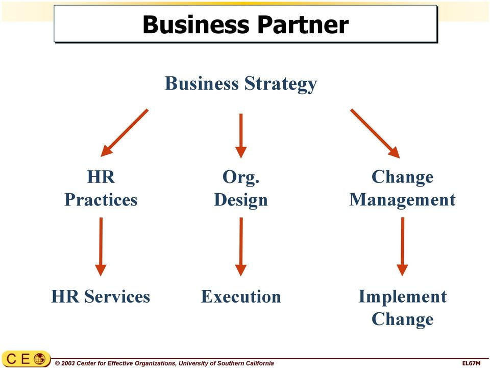 Partner Business Strategy HR Practices Org.