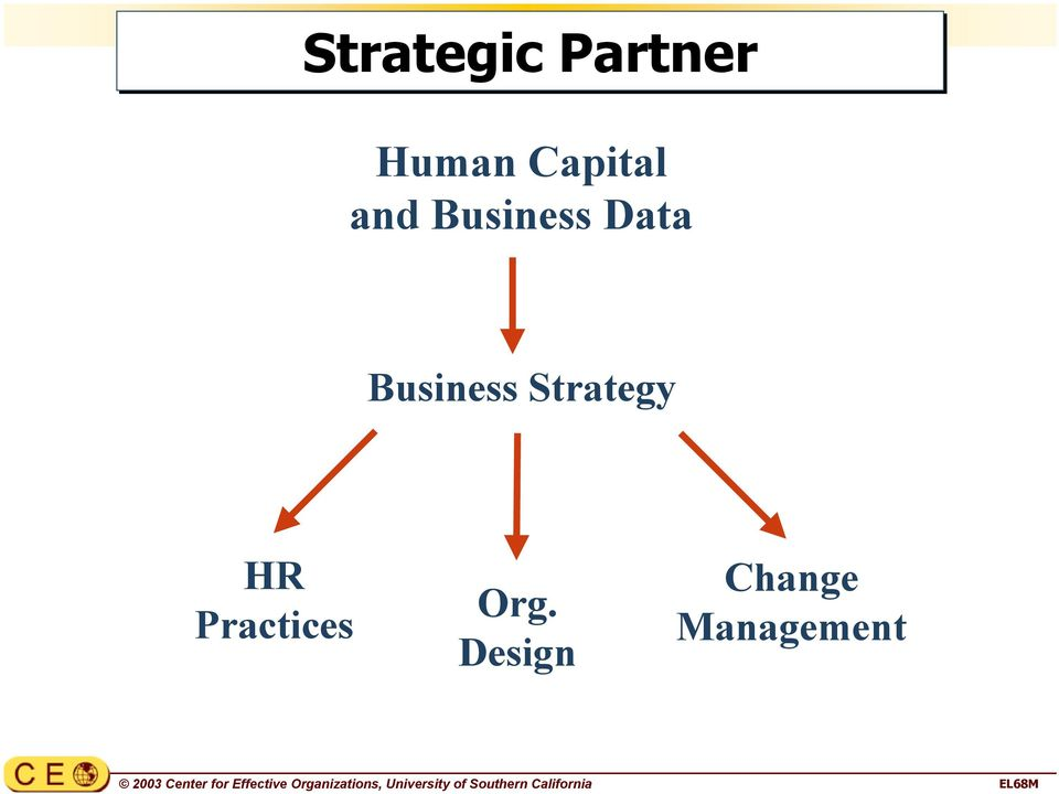 Strategic Partner Human Capital and Business