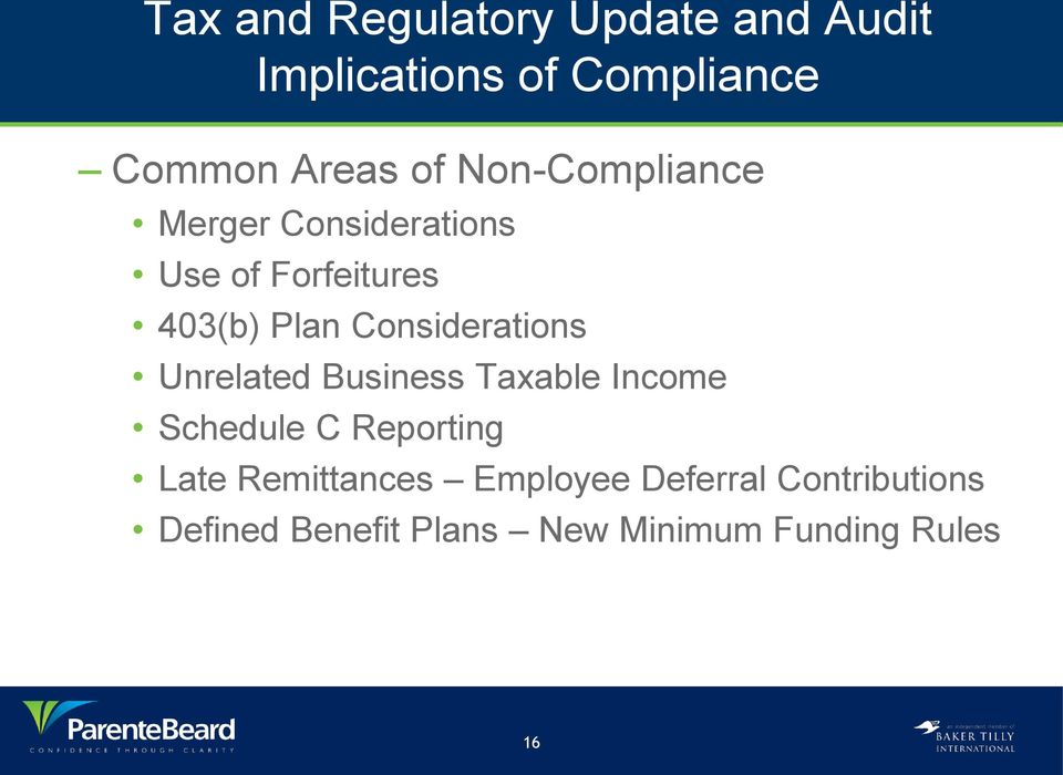 Considerations Unrelated Business Taxable Income Schedule C Reporting Late