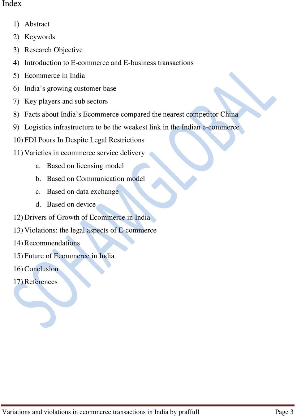Variations and violations in ecommerce transactions in India