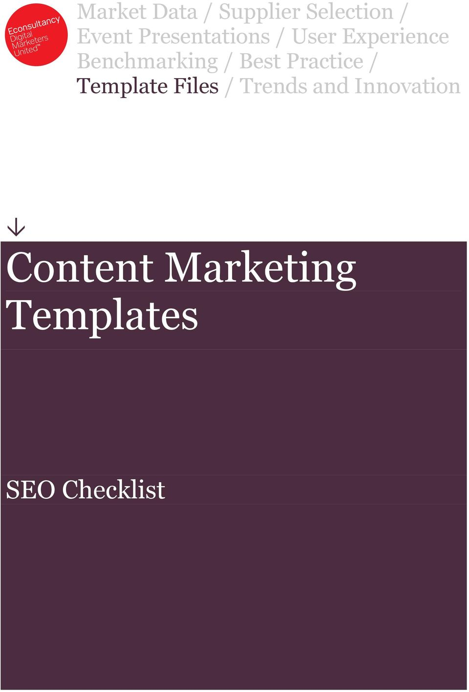 / Best Practice / Template Files / Trends and