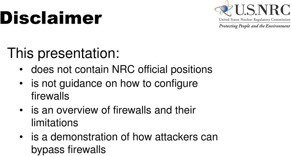 firewalls is an overview of firewalls and their