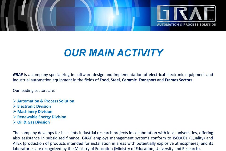 Graf s Company Profile YOUR IDEAL PARTNER FOR CNG STATIONS - PDF