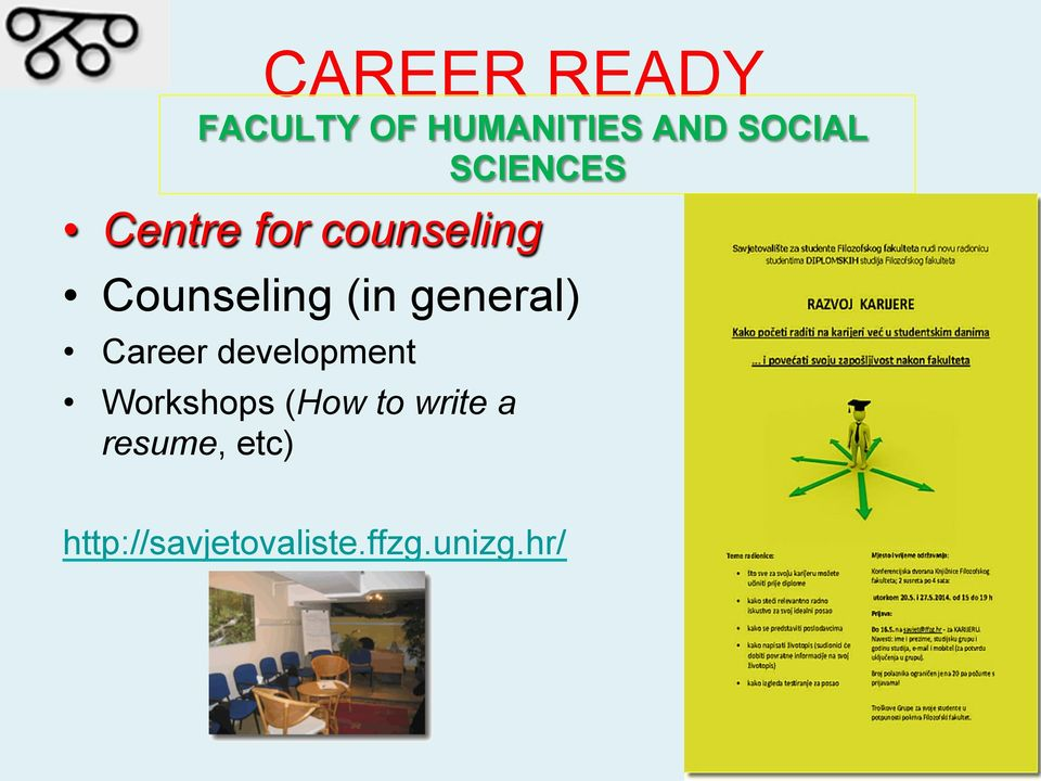 general) Career development Workshops (How to
