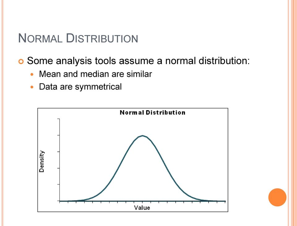 normal distribution: Mean and