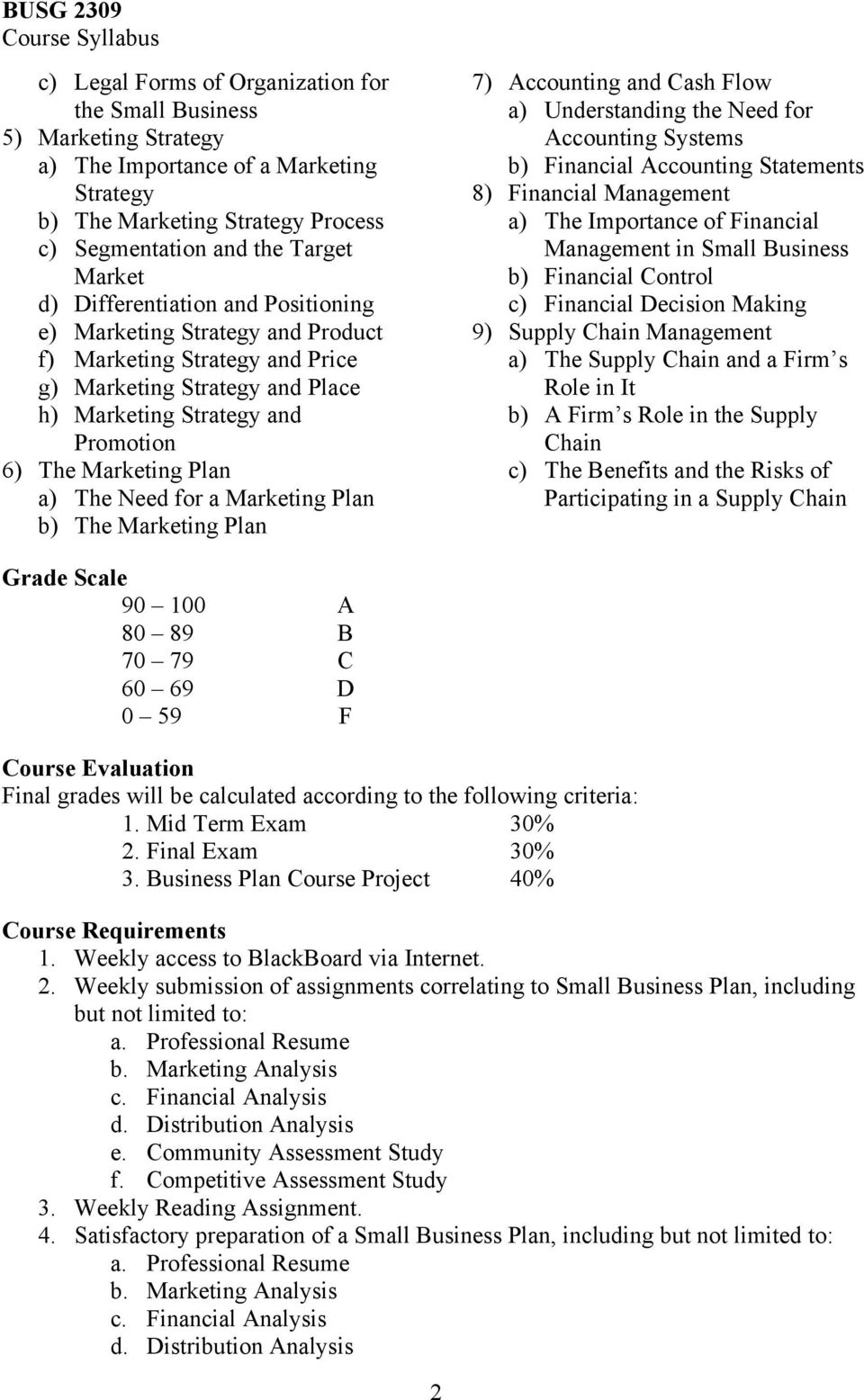 Required Textbook And Materials Title Small Business Management In