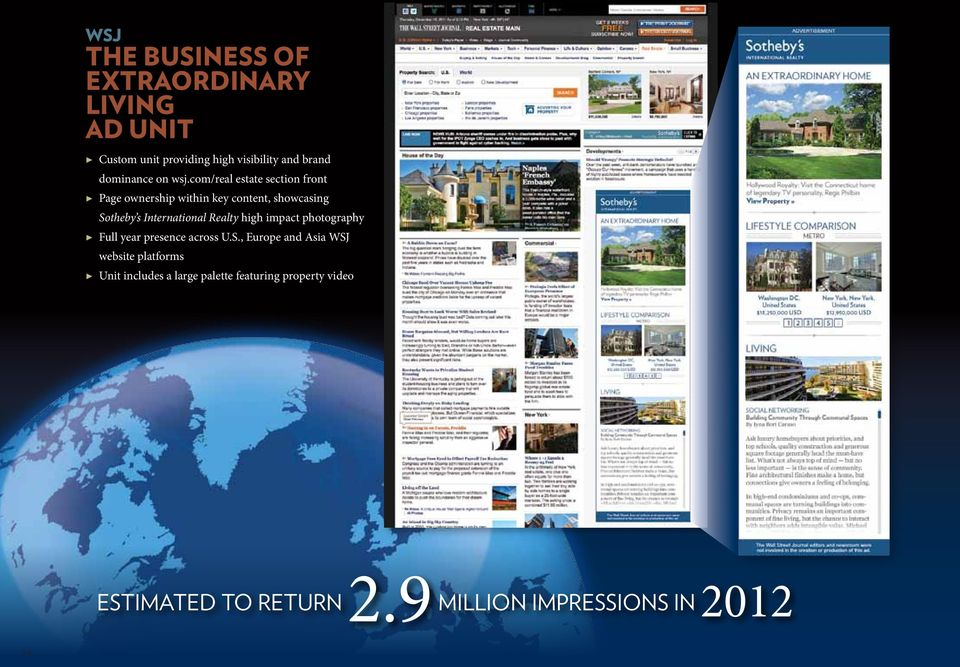 com/real estate section front Page ownership within key content, showcasing Sotheby s International