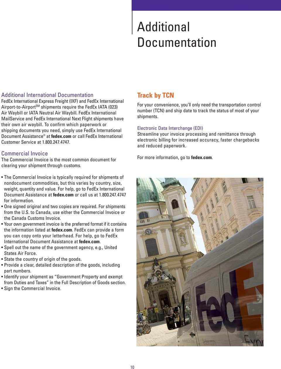 FedEx Express International Government Contract Service