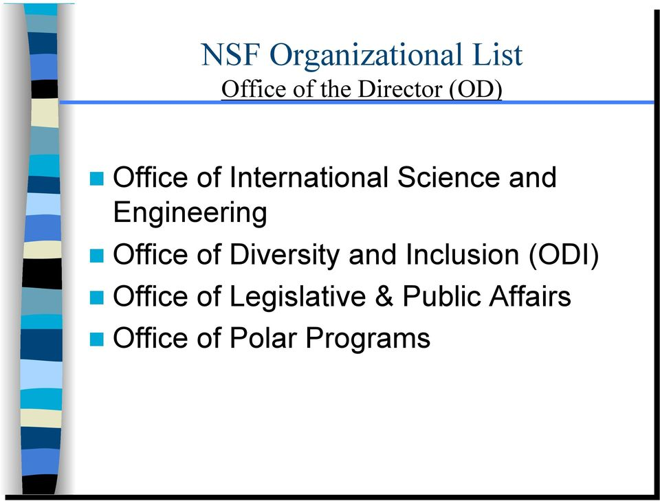 Engineering Office of Diversity and Inclusion