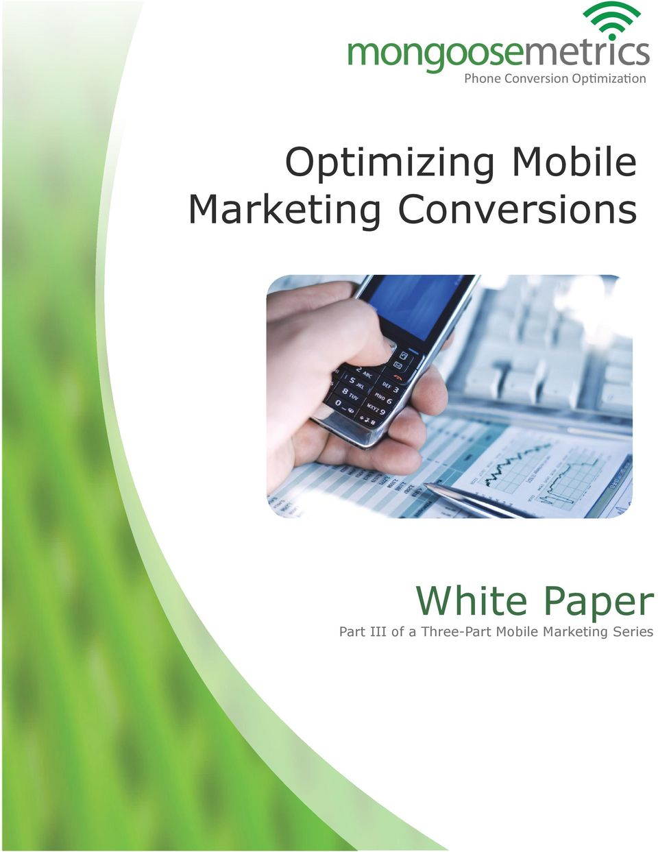 Conversions White Paper Part III