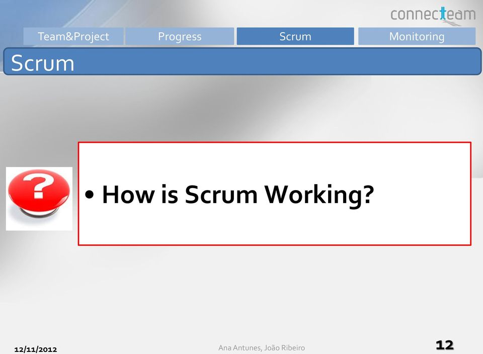How is Scrum Working?