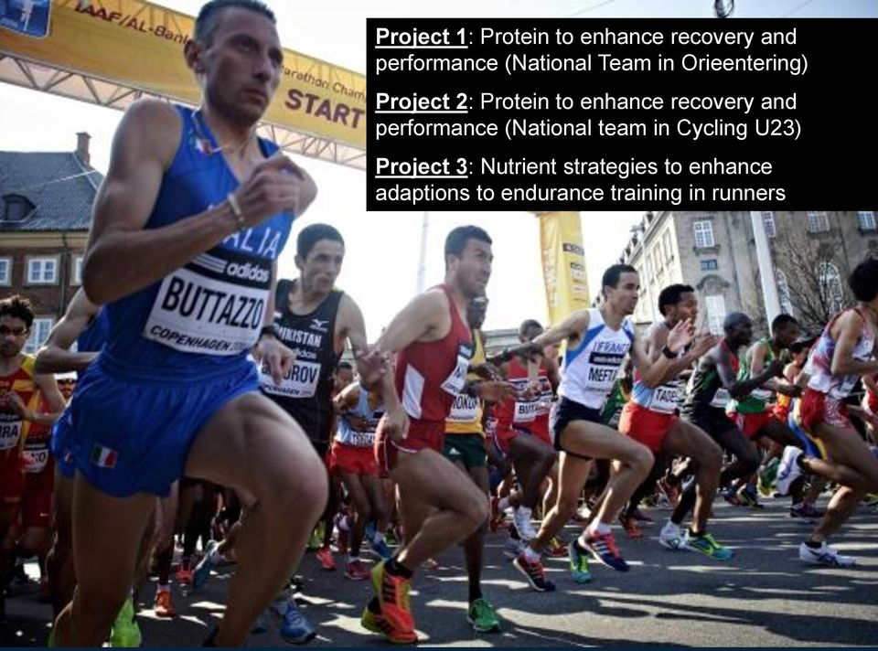 performance (National team in Cycling U23) Project 3: Nutrient