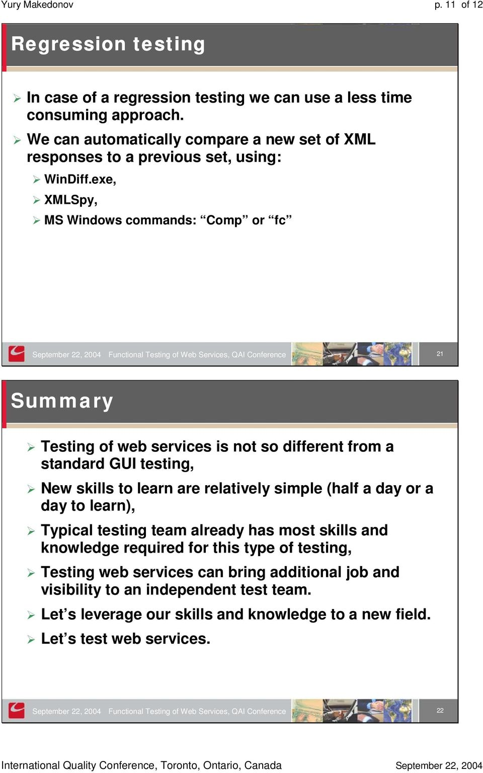 Functional Testing of Web Services - PDF