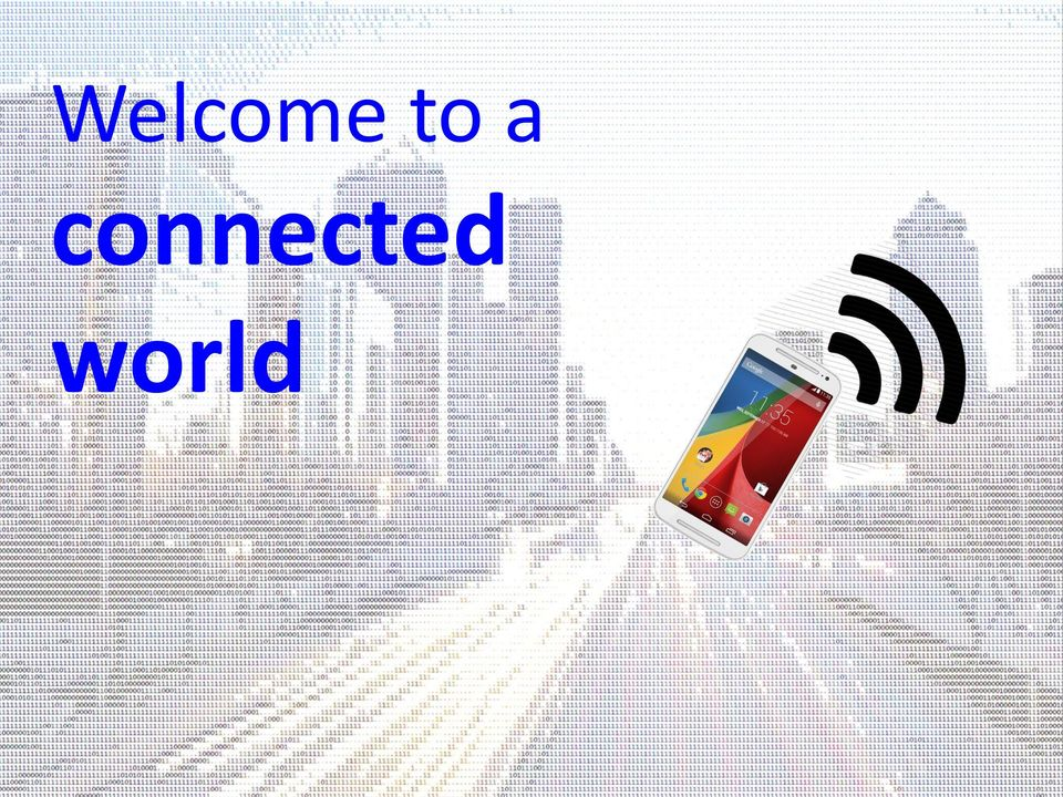 connected world FROM