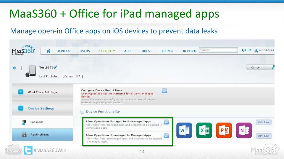 open-in Office apps on ios