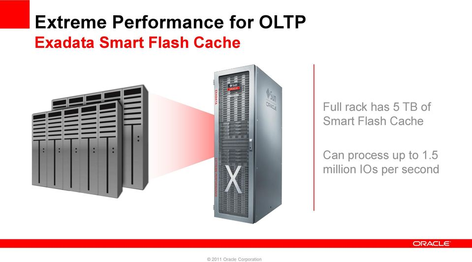 rack has 5 TB of Smart Flash Cache
