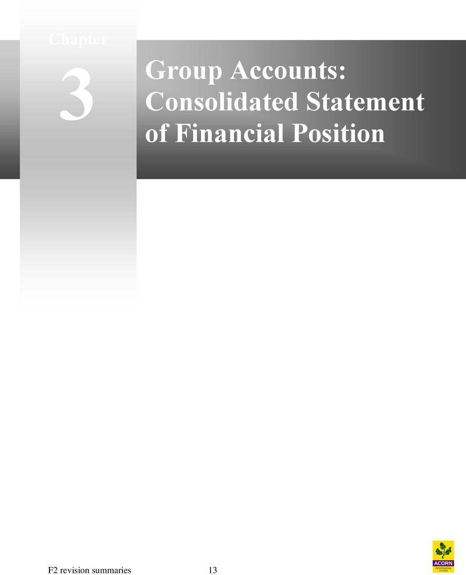 Statement of Financial
