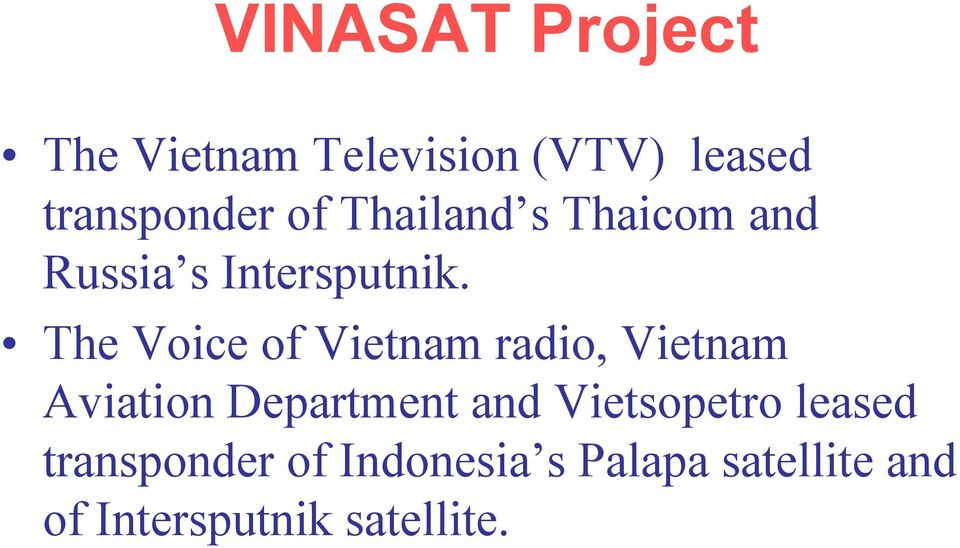 The Voice of Vietnam radio, Vietnam Aviation Department and