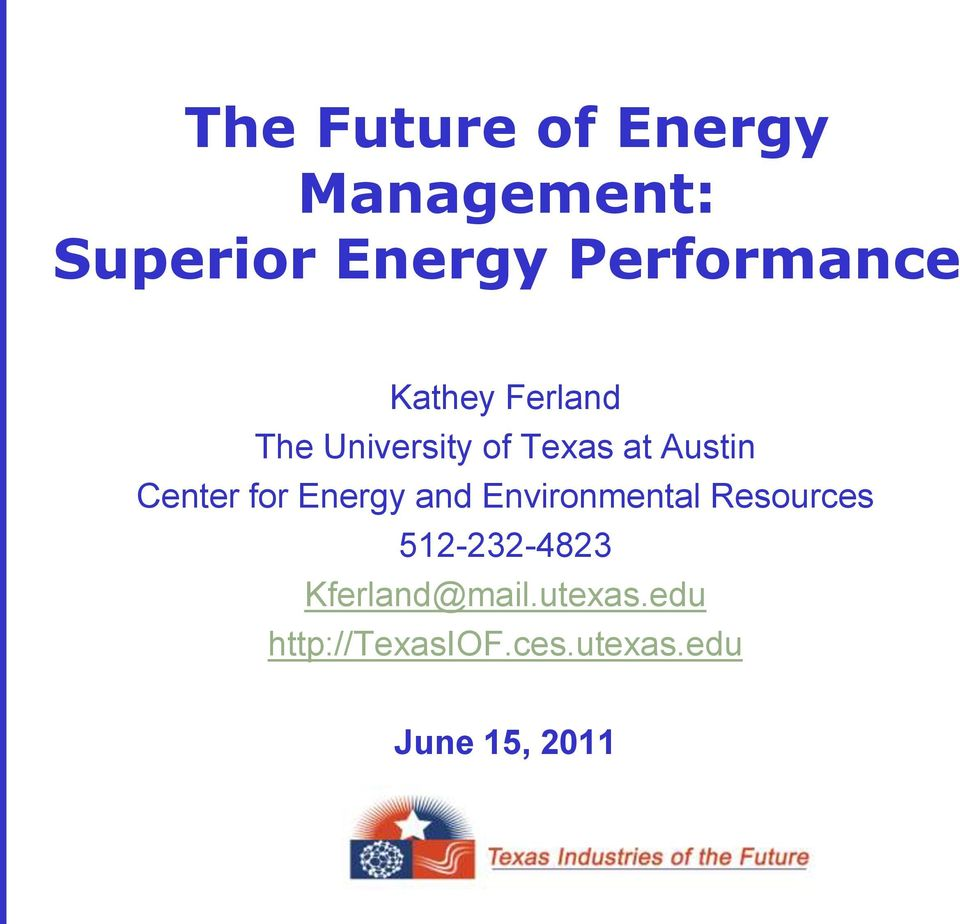 Austin Center for Energy and Environmental Resources