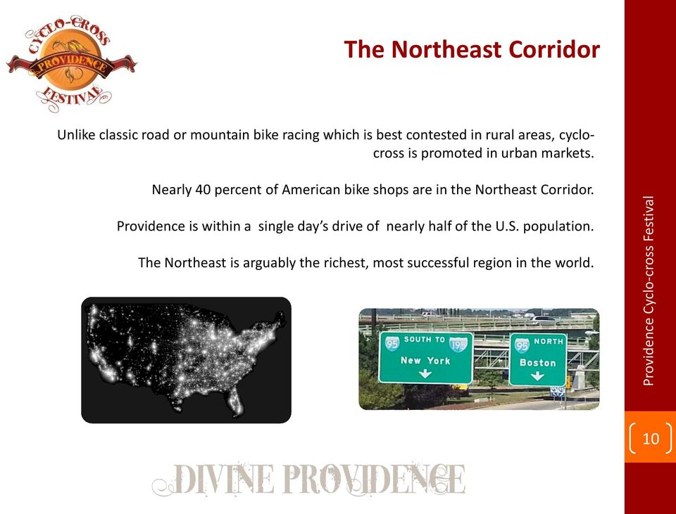 Nearly 40 percent of American bike shops are in the Northeast Corridor.