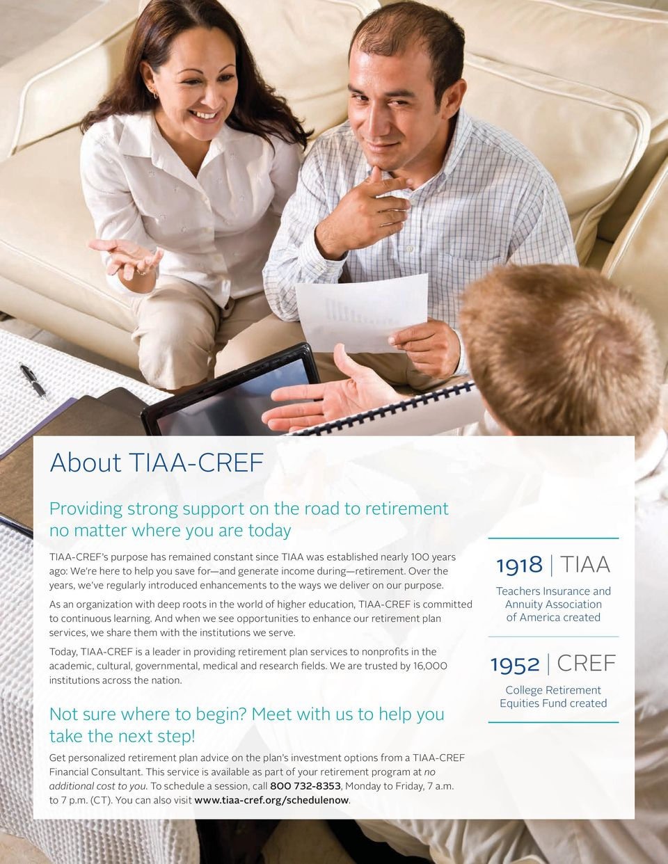 As an organization with deep roots in the world of higher education, TIAA-CREF is committed to continuous learning.