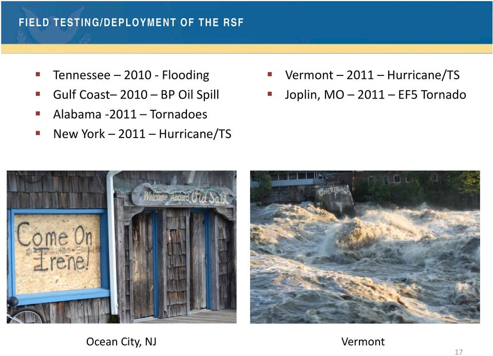 Tornadoes New York 2011 Hurricane/TS Vermont 2011