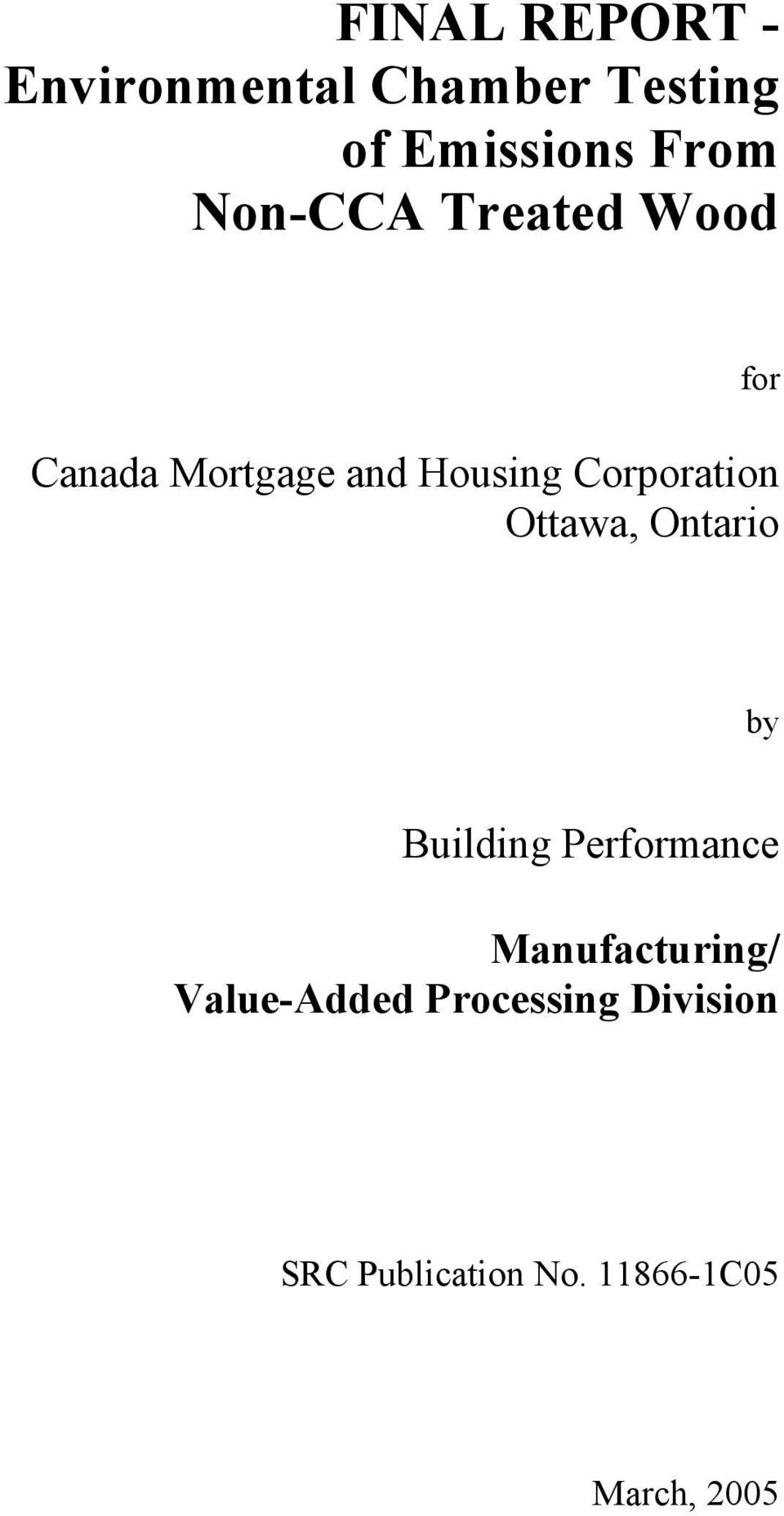 Ottawa, Ontario by Building Performance Manufacturing/