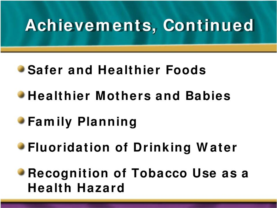 Babies Family Planning Fluoridation of