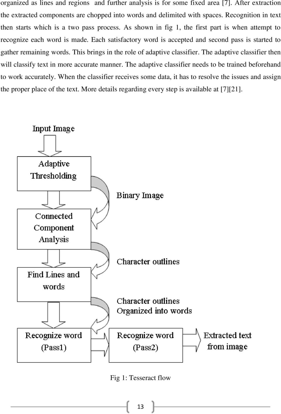 IMPROVING THE EFFICIENCY OF TESSERACT OCR ENGINE - PDF