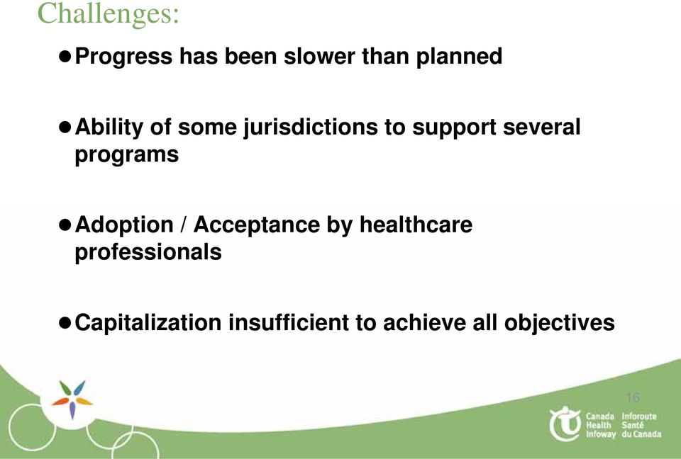 programs Adoption / Acceptance by healthcare