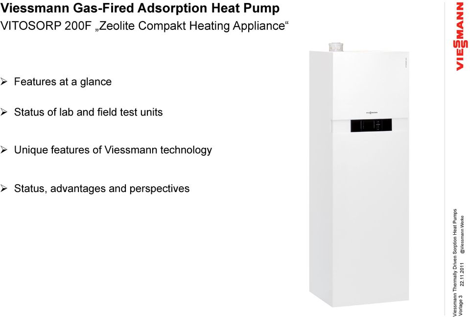 Zeolite Compakt Heating Appliance Features at a glance