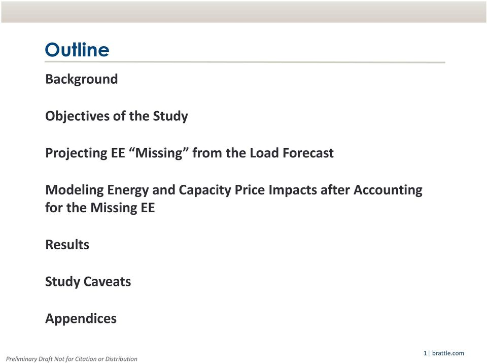 Capacity Price Impacts after Accounting for the