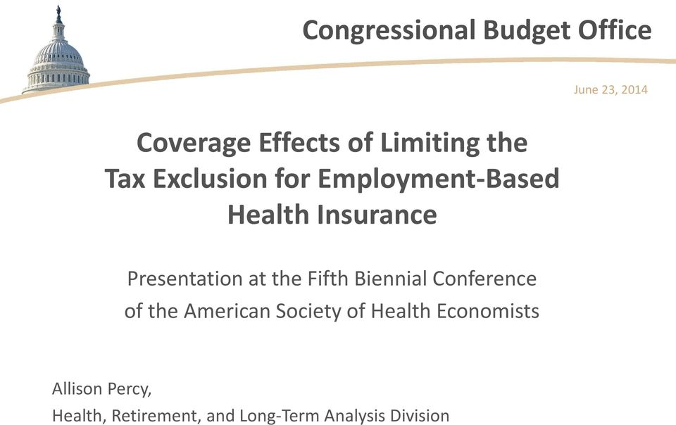 at the Fifth Biennial Conference of the American Society of Health
