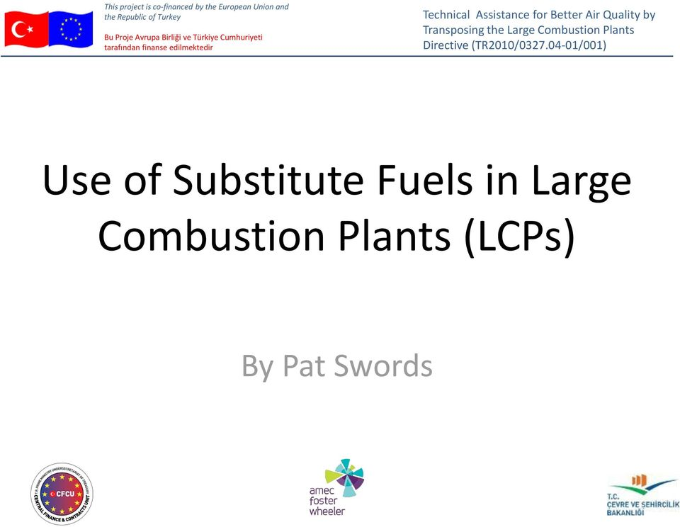 Combustion Plants