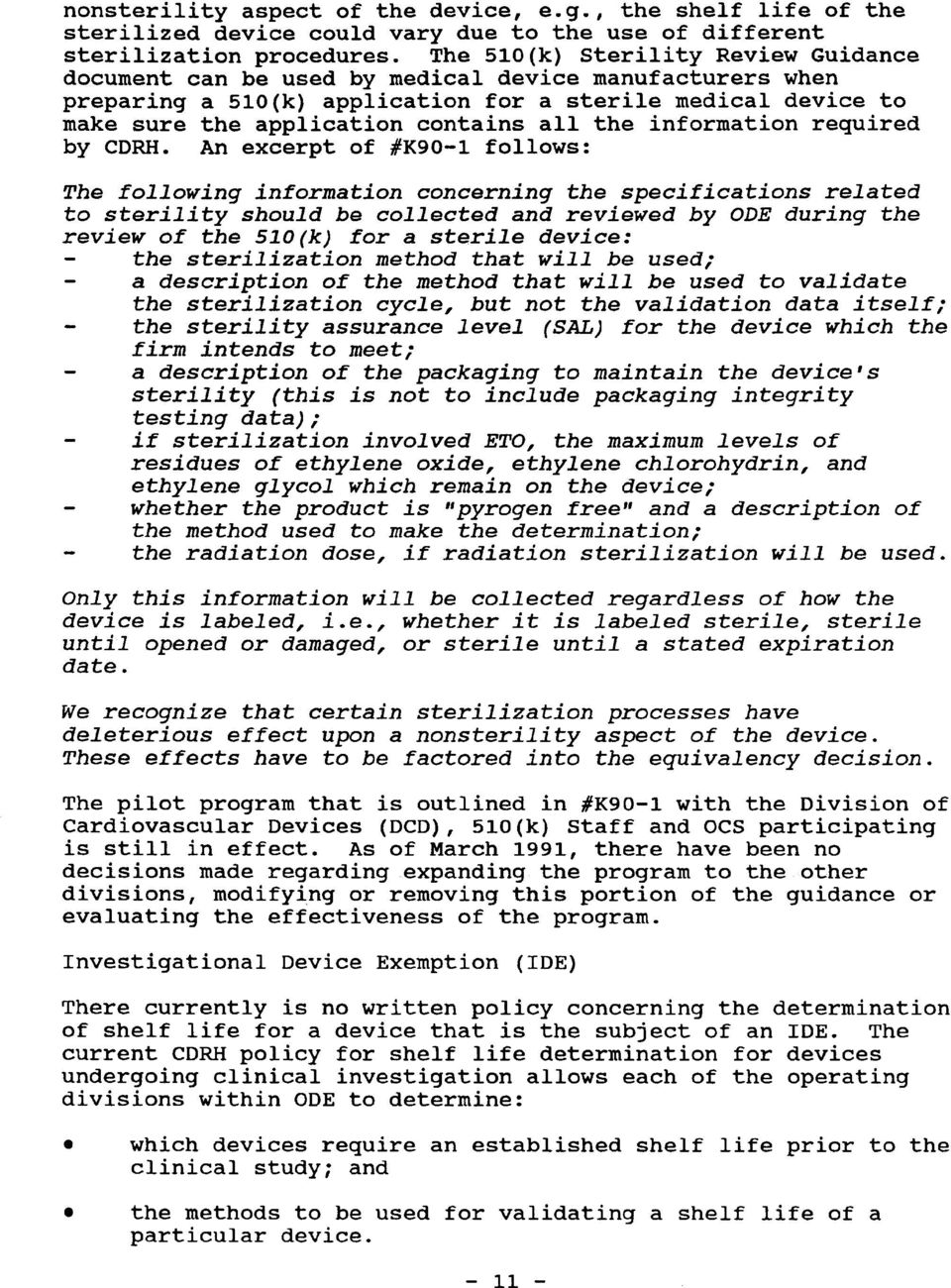 This guidance was written prior to the February 27, 1997
