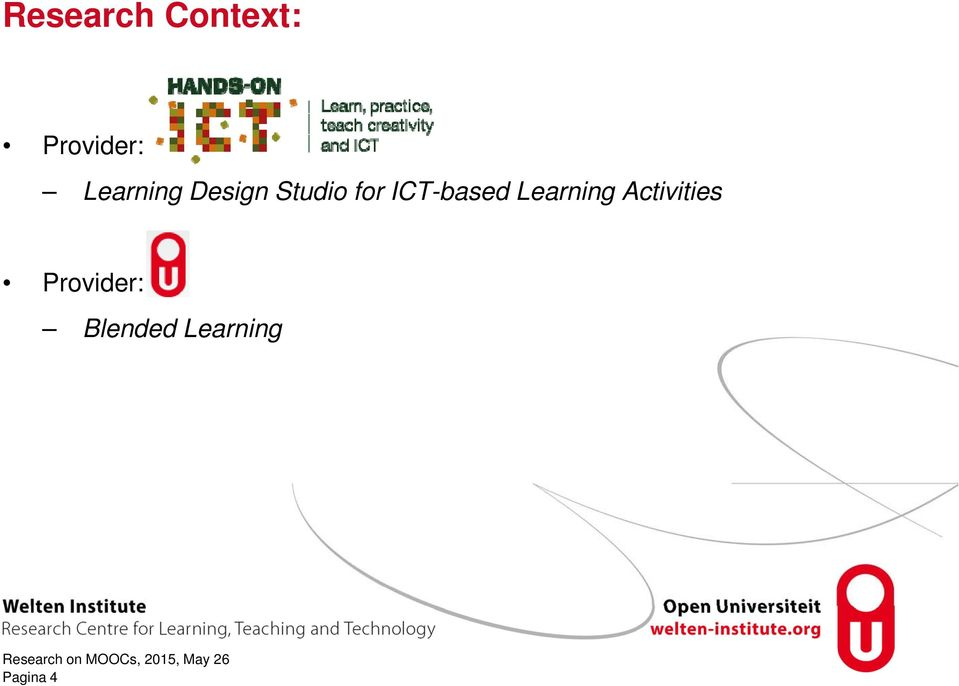 ICT-based Learning Activities