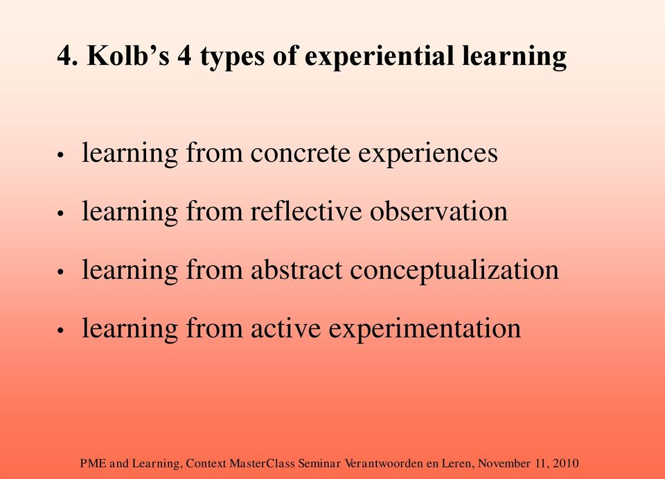 from reflective observation learning from