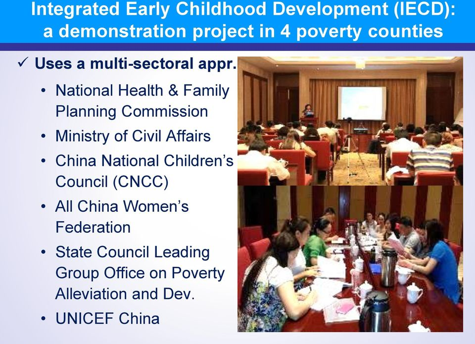 National Health & Family Planning Commission Ministry of Civil Affairs China National