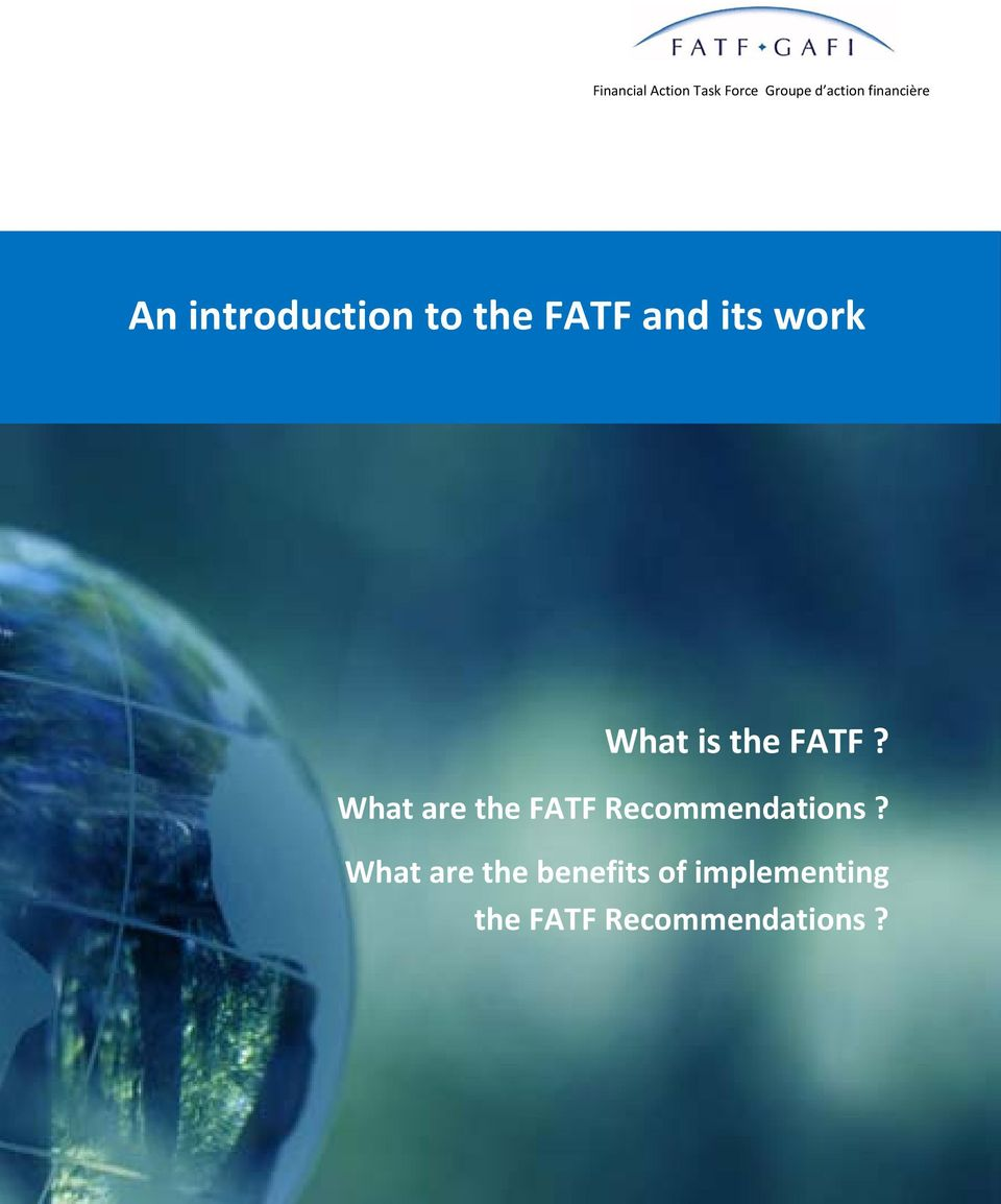 What are the FATF Recommendations?