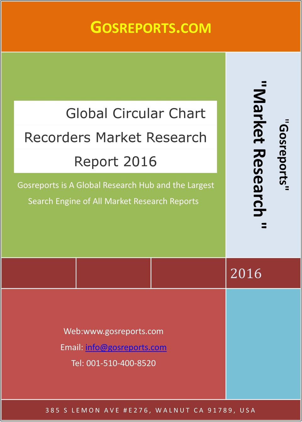 "Research Hub and the Largest Search Engine of All Market Research Reports ""Market"