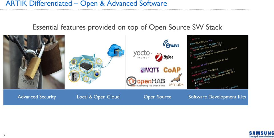 Source SW Stack Advanced Security Local &