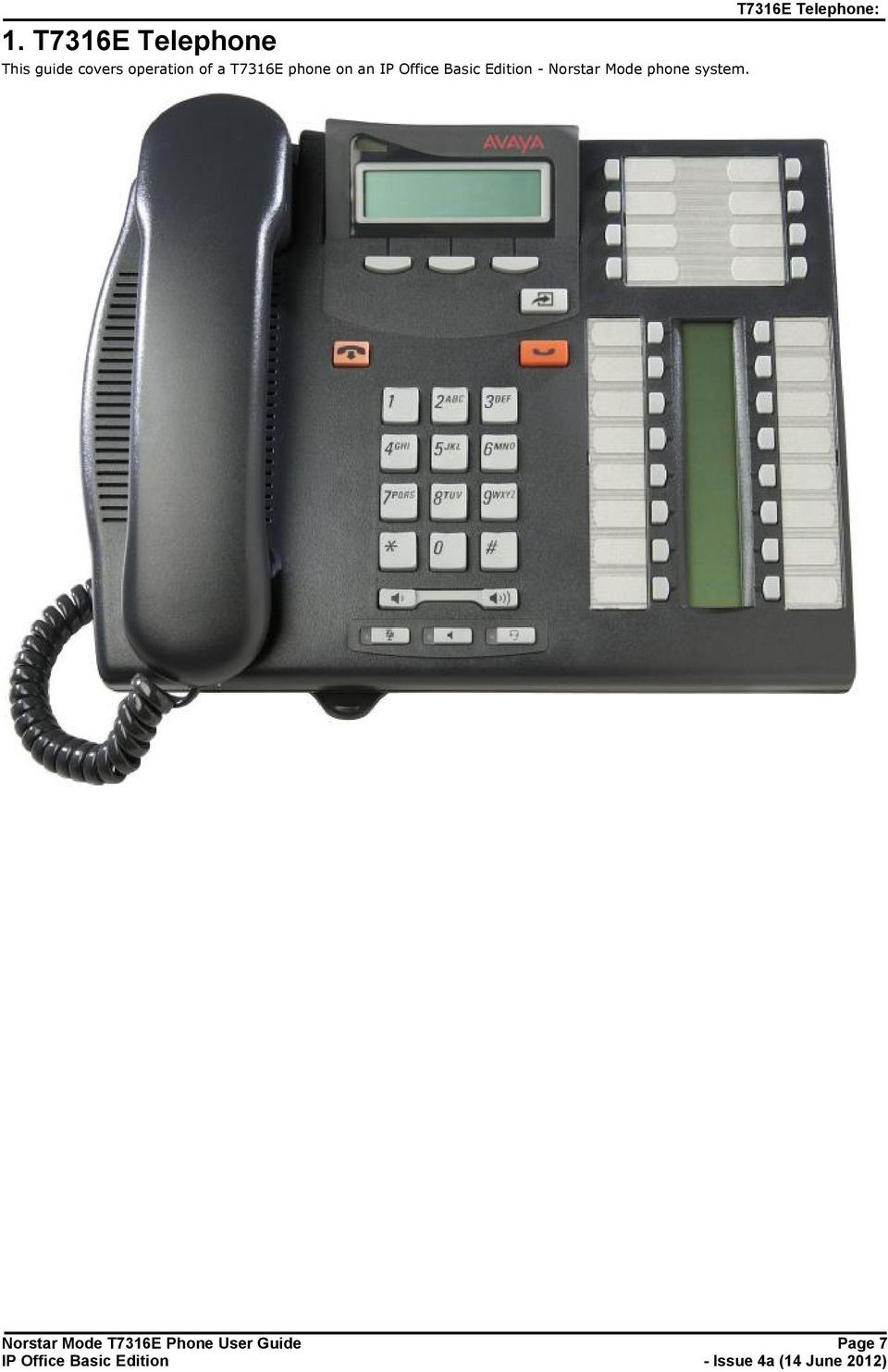 Norstar Mode phone system.