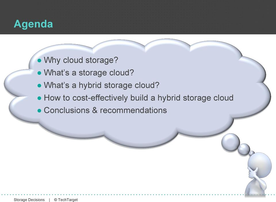 What s a hybrid storage cloud?