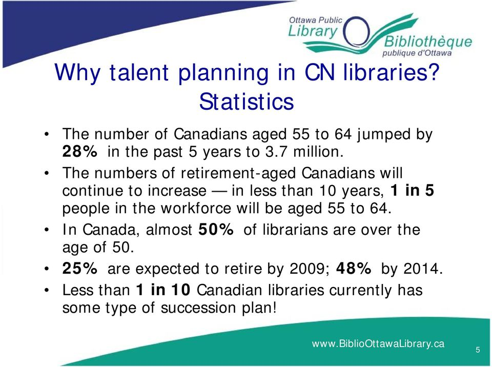 The numbers of retirement-aged Canadians will continue to increase in less than 10 years, 1 in 5 people in the